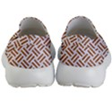 WOVEN2 WHITE MARBLE & RUSTED METAL (R) Kid s Lightweight Slip Ons View4