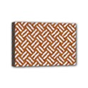 WOVEN2 WHITE MARBLE & RUSTED METAL Mini Canvas 6  x 4  View1