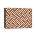 WOVEN2 WHITE MARBLE & RUSTED METAL Mini Canvas 7  x 5  View1