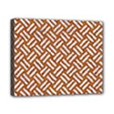 WOVEN2 WHITE MARBLE & RUSTED METAL Canvas 10  x 8  View1