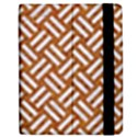 WOVEN2 WHITE MARBLE & RUSTED METAL Apple iPad 3/4 Flip Case View2