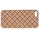 WOVEN2 WHITE MARBLE & RUSTED METAL Apple iPhone 5 Hardshell Case with Stand View1