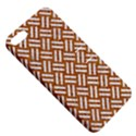 WOVEN2 WHITE MARBLE & RUSTED METAL Apple iPhone 5 Hardshell Case with Stand View5