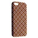 WOVEN2 WHITE MARBLE & RUSTED METAL Apple iPhone 5 Premium Hardshell Case View2