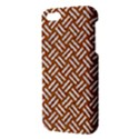 WOVEN2 WHITE MARBLE & RUSTED METAL Apple iPhone 5 Premium Hardshell Case View3