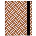 WOVEN2 WHITE MARBLE & RUSTED METAL Samsung Galaxy Tab 10.1  P7500 Flip Case View3