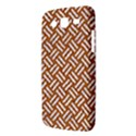 WOVEN2 WHITE MARBLE & RUSTED METAL Samsung Galaxy Mega 5.8 I9152 Hardshell Case  View3