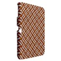 WOVEN2 WHITE MARBLE & RUSTED METAL Samsung Galaxy Tab 3 (10.1 ) P5200 Hardshell Case  View2