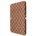 WOVEN2 WHITE MARBLE & RUSTED METAL Samsung Galaxy Tab 3 (10.1 ) P5200 Hardshell Case  View3