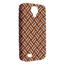WOVEN2 WHITE MARBLE & RUSTED METAL Samsung Galaxy S4 Classic Hardshell Case (PC+Silicone) View2