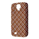 WOVEN2 WHITE MARBLE & RUSTED METAL Samsung Galaxy S4 Classic Hardshell Case (PC+Silicone) View3