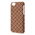 WOVEN2 WHITE MARBLE & RUSTED METAL Apple iPhone 5C Hardshell Case View3