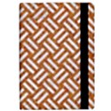 WOVEN2 WHITE MARBLE & RUSTED METAL iPad Air Flip View2