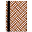 WOVEN2 WHITE MARBLE & RUSTED METAL iPad Air Flip View4