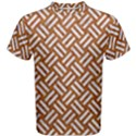 WOVEN2 WHITE MARBLE & RUSTED METAL Men s Cotton Tee View1