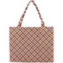 WOVEN2 WHITE MARBLE & RUSTED METAL Mini Tote Bag View1