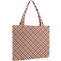 WOVEN2 WHITE MARBLE & RUSTED METAL Mini Tote Bag View2