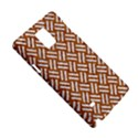 WOVEN2 WHITE MARBLE & RUSTED METAL Samsung Galaxy Note 4 Hardshell Case View5