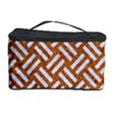 WOVEN2 WHITE MARBLE & RUSTED METAL Cosmetic Storage Case View1
