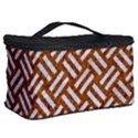WOVEN2 WHITE MARBLE & RUSTED METAL Cosmetic Storage Case View2