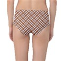 WOVEN2 WHITE MARBLE & RUSTED METAL Mid-Waist Bikini Bottoms View2