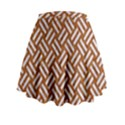 WOVEN2 WHITE MARBLE & RUSTED METAL Mini Flare Skirt View2