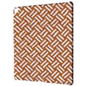 WOVEN2 WHITE MARBLE & RUSTED METAL Apple iPad Pro 12.9   Hardshell Case View3