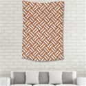 WOVEN2 WHITE MARBLE & RUSTED METAL Small Tapestry View2