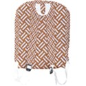 WOVEN2 WHITE MARBLE & RUSTED METAL Full Print Backpack View2