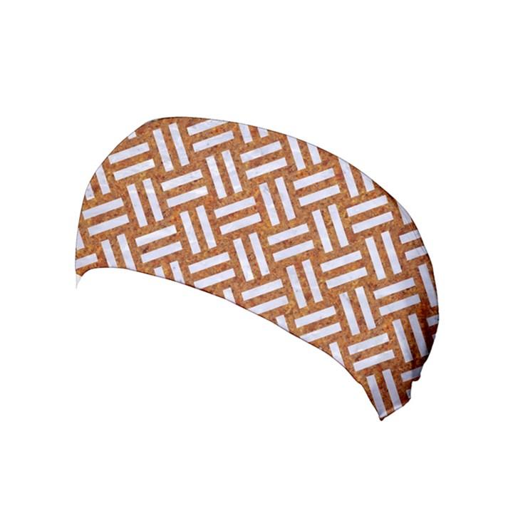 WOVEN2 WHITE MARBLE & RUSTED METAL Yoga Headband