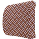 WOVEN2 WHITE MARBLE & RUSTED METAL Back Support Cushion View3