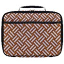 WOVEN2 WHITE MARBLE & RUSTED METAL Full Print Lunch Bag View1