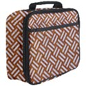 WOVEN2 WHITE MARBLE & RUSTED METAL Full Print Lunch Bag View3