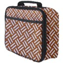 WOVEN2 WHITE MARBLE & RUSTED METAL Full Print Lunch Bag View4
