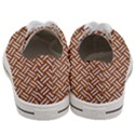 WOVEN2 WHITE MARBLE & RUSTED METAL Women s Low Top Canvas Sneakers View4