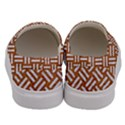 WOVEN2 WHITE MARBLE & RUSTED METAL Men s Canvas Slip Ons View4