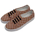 WOVEN2 WHITE MARBLE & RUSTED METAL Men s Classic Low Top Sneakers View2