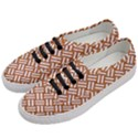 WOVEN2 WHITE MARBLE & RUSTED METAL Women s Classic Low Top Sneakers View2