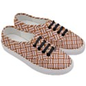 WOVEN2 WHITE MARBLE & RUSTED METAL Women s Classic Low Top Sneakers View3