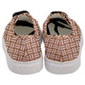 WOVEN2 WHITE MARBLE & RUSTED METAL Women s Classic Low Top Sneakers View4
