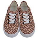 WOVEN2 WHITE MARBLE & RUSTED METAL Kids  Classic Low Top Sneakers View1
