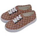 WOVEN2 WHITE MARBLE & RUSTED METAL Kids  Classic Low Top Sneakers View2