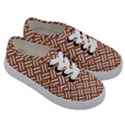 WOVEN2 WHITE MARBLE & RUSTED METAL Kids  Classic Low Top Sneakers View3
