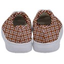 WOVEN2 WHITE MARBLE & RUSTED METAL Kids  Classic Low Top Sneakers View4