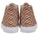 WOVEN2 WHITE MARBLE & RUSTED METAL Kid s Mid-Top Canvas Sneakers View4