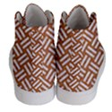 WOVEN2 WHITE MARBLE & RUSTED METAL Women s Hi-Top Skate Sneakers View4