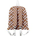 WOVEN2 WHITE MARBLE & RUSTED METAL Giant Full Print Backpack View2