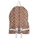 WOVEN2 WHITE MARBLE & RUSTED METAL Foldable Lightweight Backpack View2