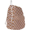 WOVEN2 WHITE MARBLE & RUSTED METAL Foldable Lightweight Backpack View3