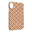 WOVEN2 WHITE MARBLE & RUSTED METAL Apple iPhone X Hardshell Case View2